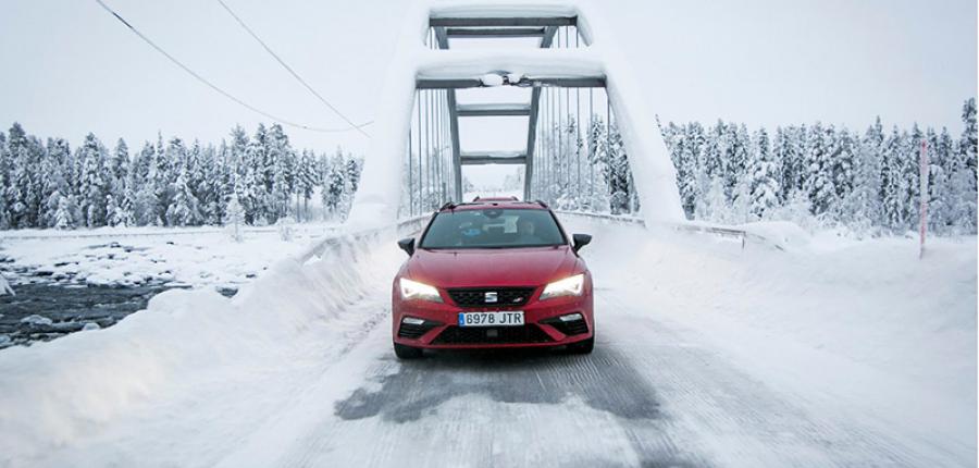 Video: 5 pruebas extremas  en el frío Ártico con autos SEAT