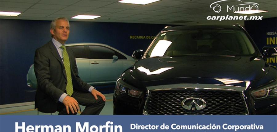 Herman Morfin nos platica sobre Infiniti y sus motores