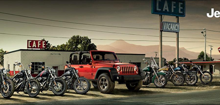 Harley-Davidson® y la marca Jeep® renuevan su colaboración para 2018