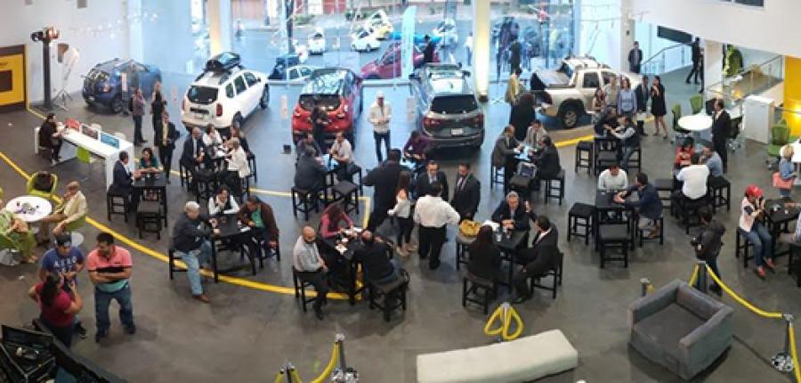 ¿Conoces la agencia de autos más moderna del país?