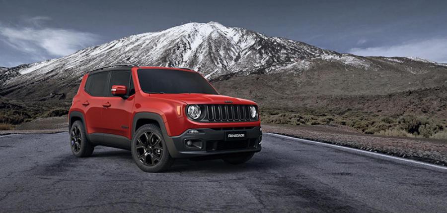 ¿Conoces el lado oscuro de Jeep® Renegade?