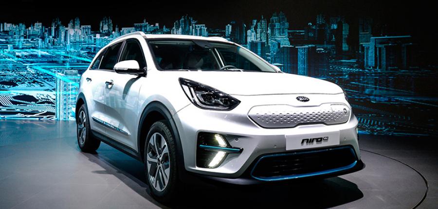 KIA Niro EV totalmente eléctrica ya está a la venta en Corea