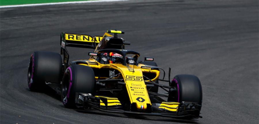 Nico Hulkenberg en plan grande: Renault