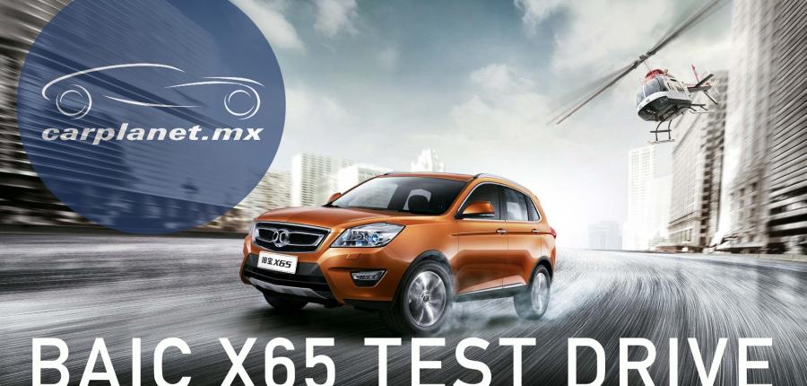 Test Drive BAIC X65