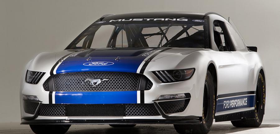 MUSTANG listo para competir en NASCAR 2019