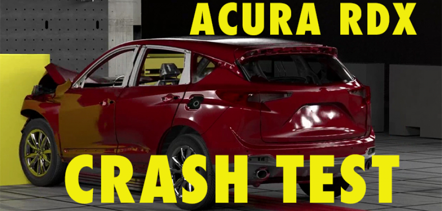 Video: Acura RDX Crash Test