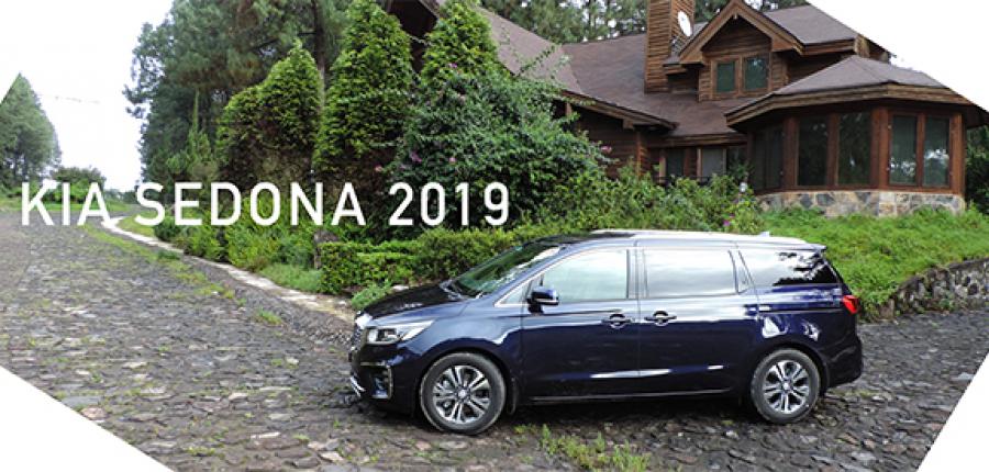 KIA Sedona 2019: La minivan en un gran concepto