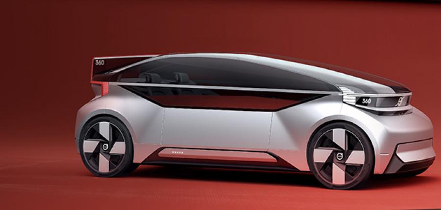 Video: Volvo presenta el auto concepto 360c