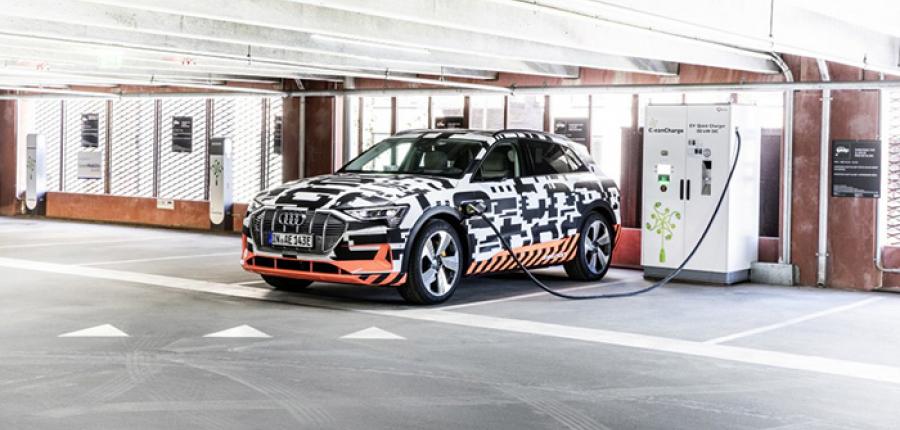 Conoce Audi e-tron Charging Service