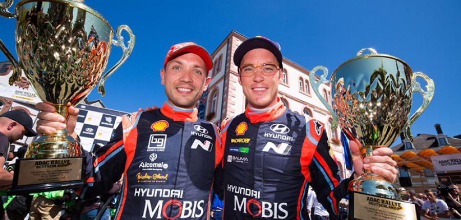 Hyundai Motorsport y Thierry Neuville firmaron un nuevo contrato de tres años