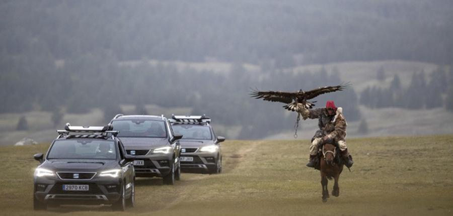 Vídeo: ¡Impresionante!  El poder de un SEAT ATECA en tierras Mongólicas