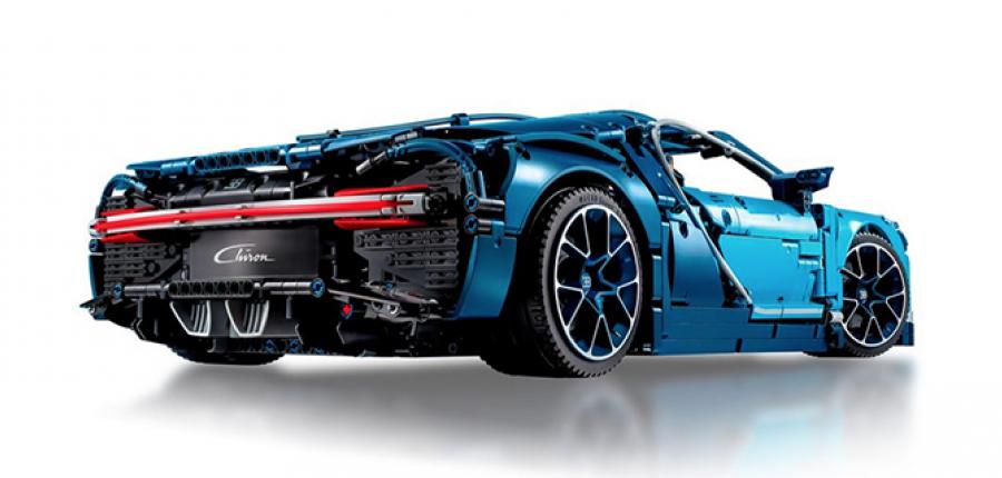 Galería Bugatti Chiron Lego
