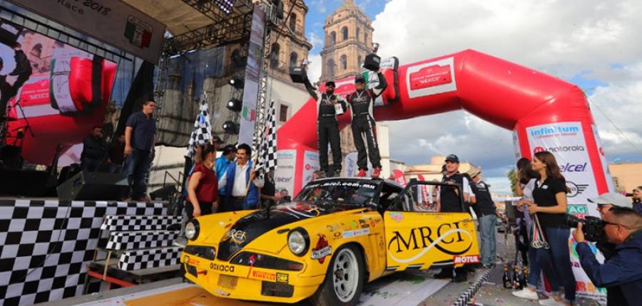 La Carrera Panamericana tiene nuevos campeones