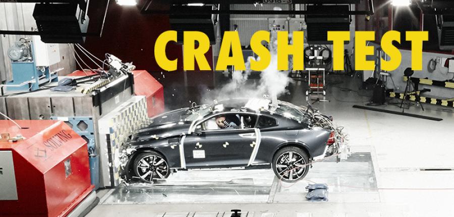 Video: CRASH TEST - Volvo reta a la fibra de carbono