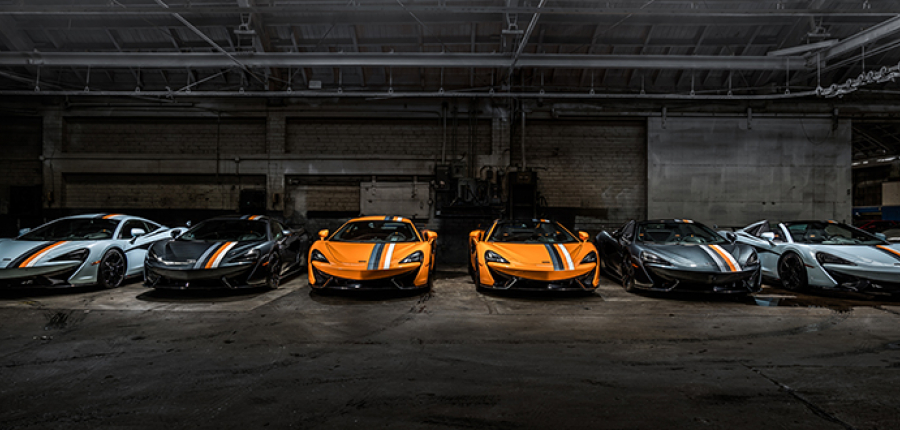 Galería: McLaren rinde tributo a su legado con 6 autos edición especial