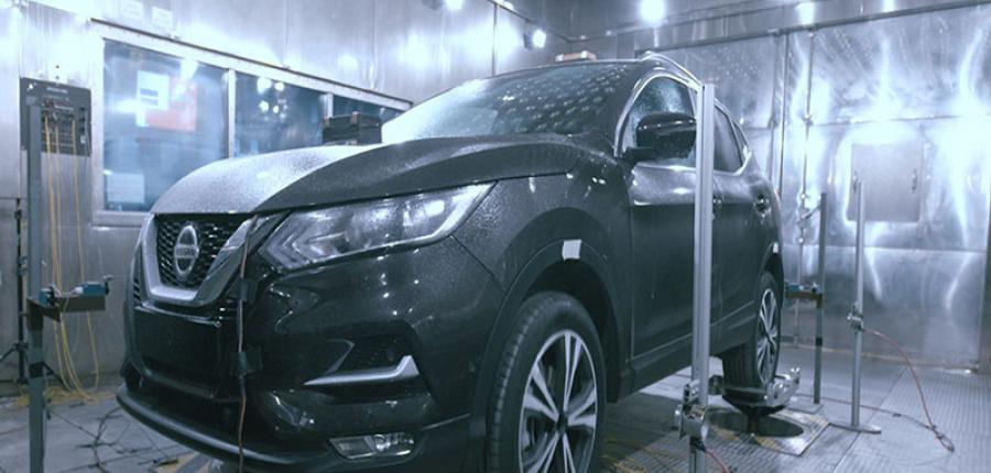 Video: Nissan prueba sus vehículos en las condiciones más extremas