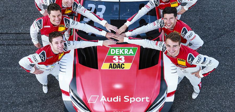 Audi confirma a sus pilotos para el DTM 2019