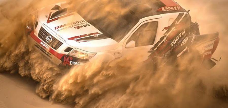 Nissan NP300 Frontier se prepara para participar en el Rally de Dakar