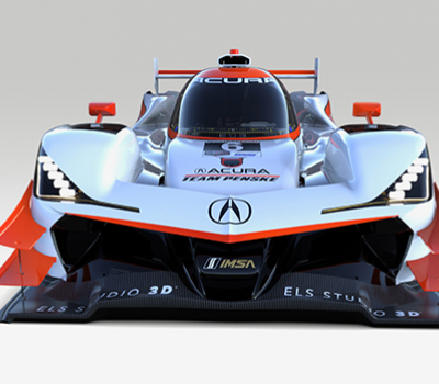 Acura revela diseños históricos para los prototipos ARX-05 de 2019