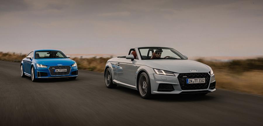 Arranca la comercialización del nuevo Audi TT