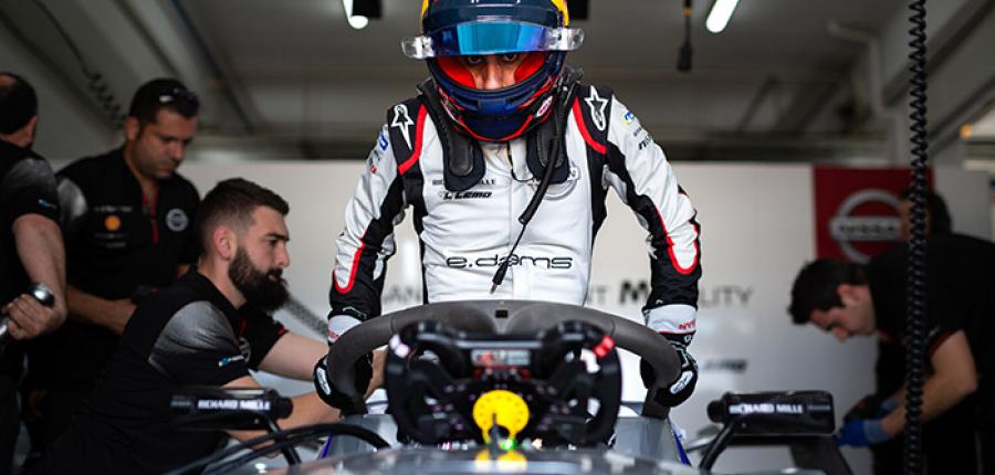 Nissan e.dams está listo para el e-Prix de México