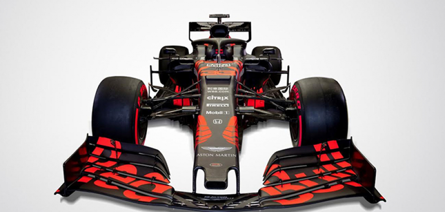 Nuevo RB 15 de Fórmula 1