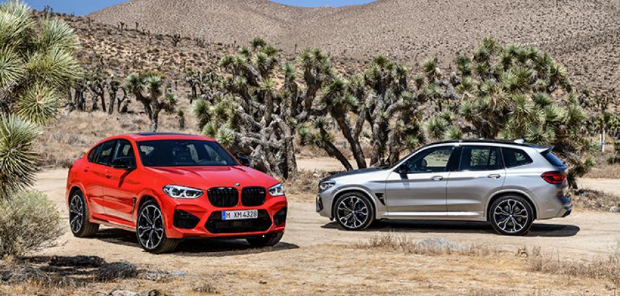 Galería: El totalmente nuevo BMW X3 M y el totalmente nuevo BMW X4 M