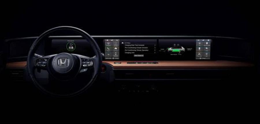 Honda muestra un primer vistazo del interior del vehículo eléctrico