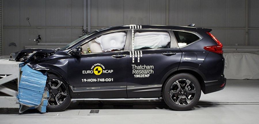 La nueva Honda CR-V recibe las cinco estrellas Euro NCAP