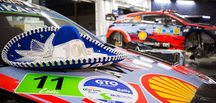Citroen triunfa y Hyundai salva puntos en el Rally de Guanajuato