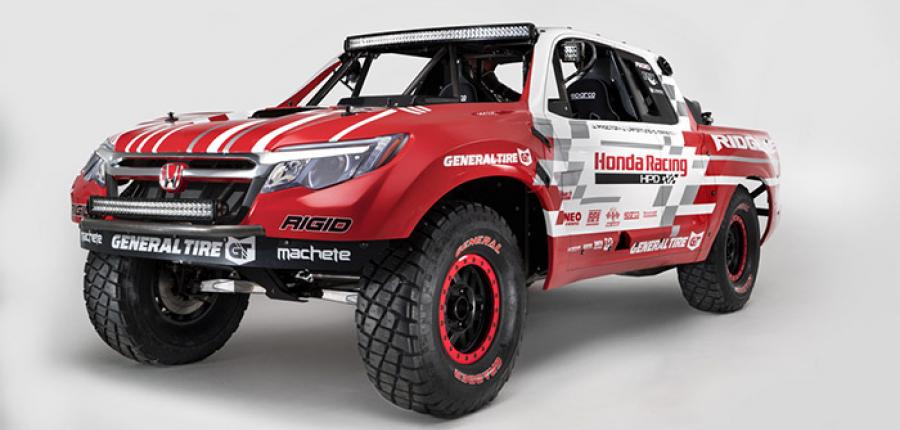 Galería: Conoces el Honda Ridgeline Baja Race Truck