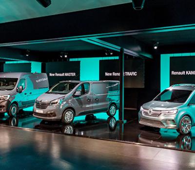Renault persigue una estrategia ambiciosa para sus vehículos comerciales