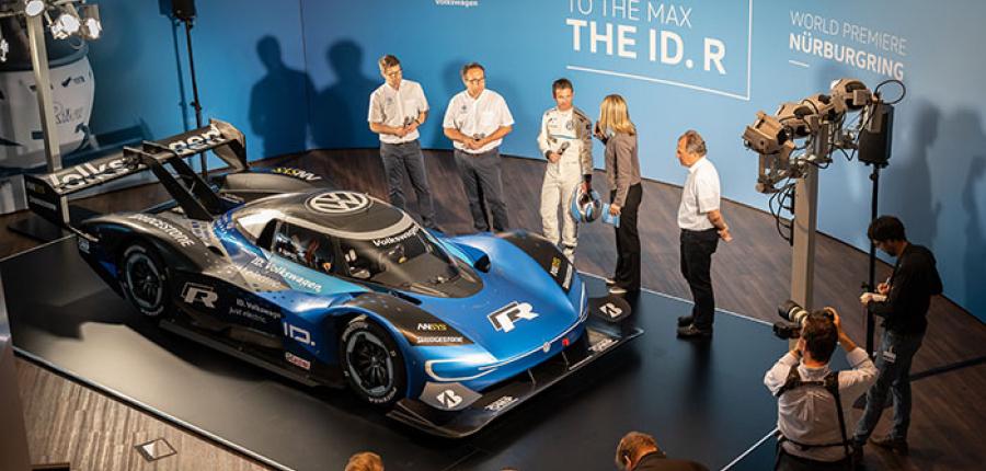 El Nuevo Volkswagen ID. R debuta en Nürburgring  Nordschleife
