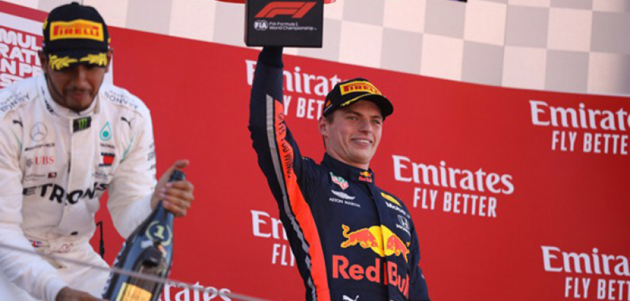 Max Verstappen consigue podio en el GP de España
