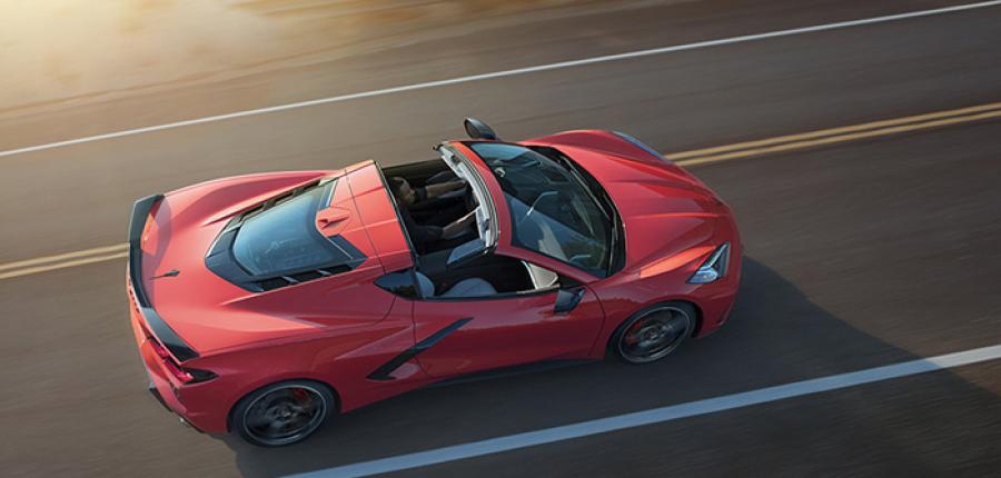 Chevrolet presenta el primer Corvette con motor central