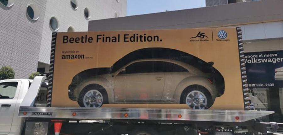 Volkswagen entregó el primer Beetle Final Edition apartado a través de Amazon