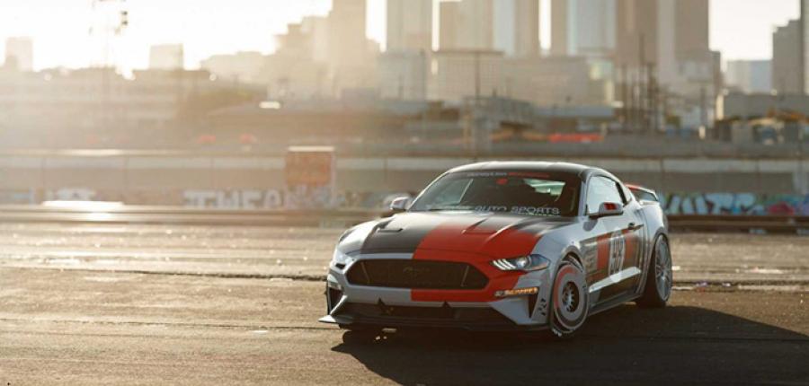 Este Ford Mustang de inspiración retro que se presentará en el SEMA Show Car 2019