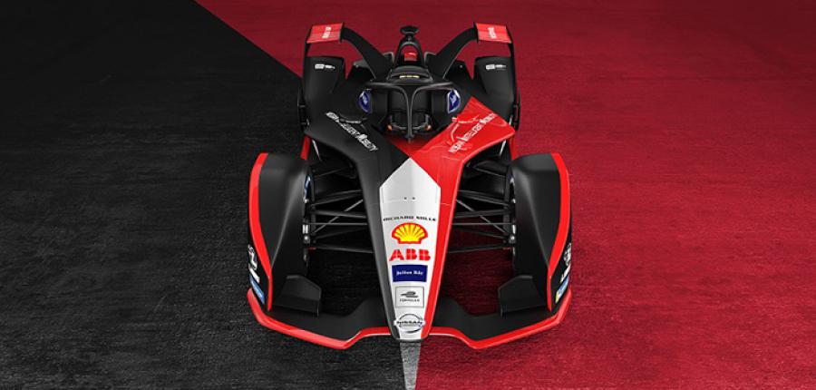 Esta es la nueva apariencia del Auto de Nissan para la Fórmula E