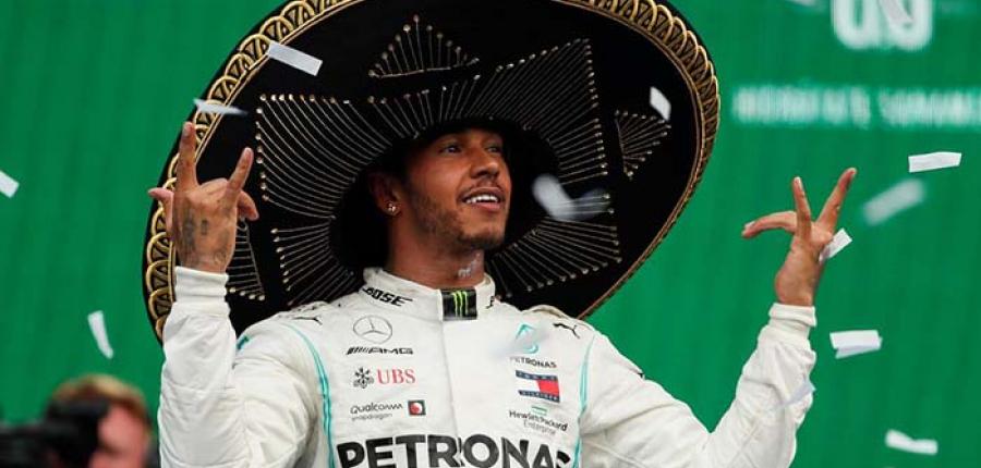 El gran Premio de México es para Hamilton