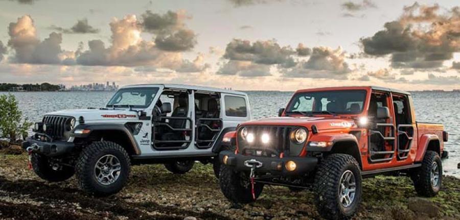 Jeep® presenta los modelos Wrangler y Gladiator edición especial