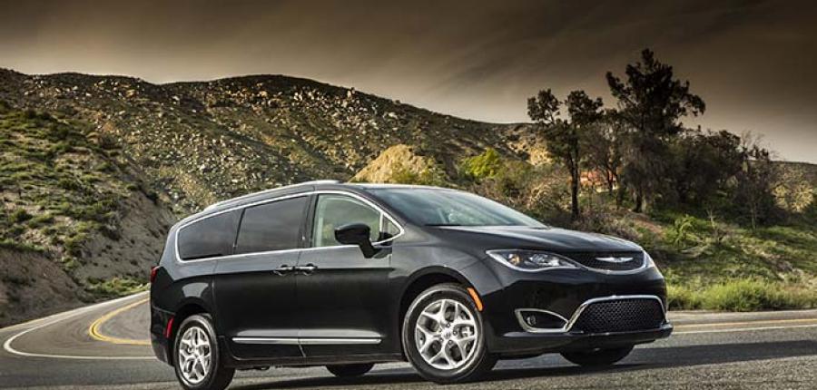 Galería: Chrysler Pacifica 2020