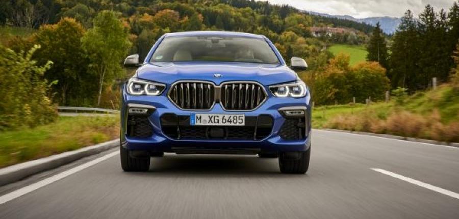 El totalmente nuevo BMW X6