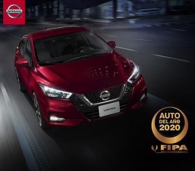 Nissan Versa 2020 es premiado por FIPA (Federación Interamericana de Periodistas del Automóvil )