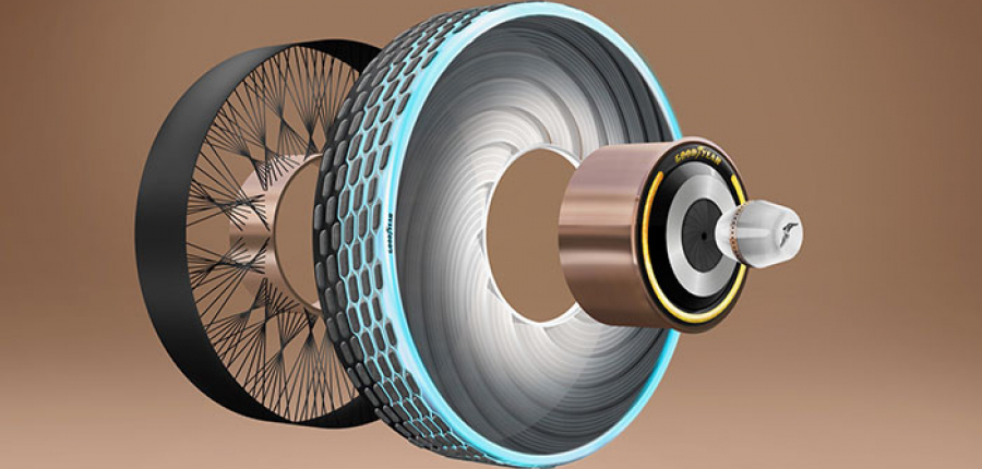 Nace un nuevo concepto de neumático basado en Seda de Araña