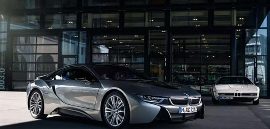 Este es el BMW i8 primer modelo híbrido conectable de la marca