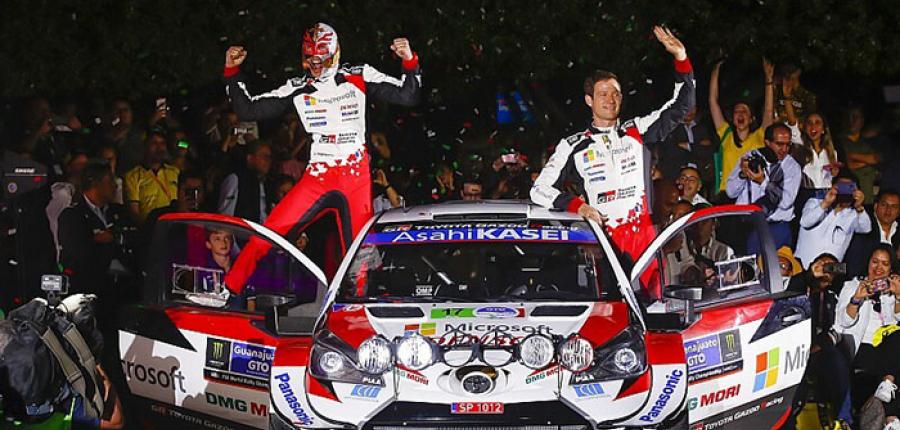 El Rally de Guanajuato es para Toyota Gazoo Racing y