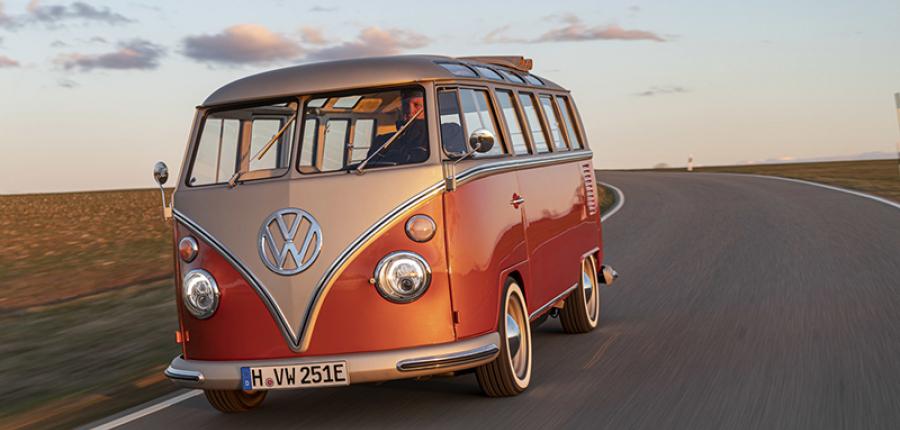 ¿Lo has visto? Volkswagen e-BULLI