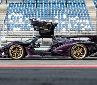 Apollo IE Hypercar se asoma como el súper auto más seguro y liviano