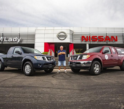 "La pick up ""Million Mile"" Nissan Frontier regresa a casa después de 13 años de manejo ininterrumpido"