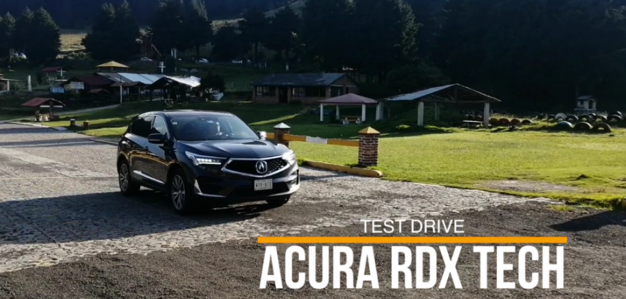 TEST DRIVE ACURA RDX TECH